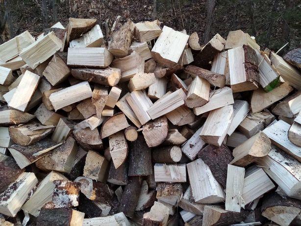 Drewno kominkowe opałowe sosna świerk