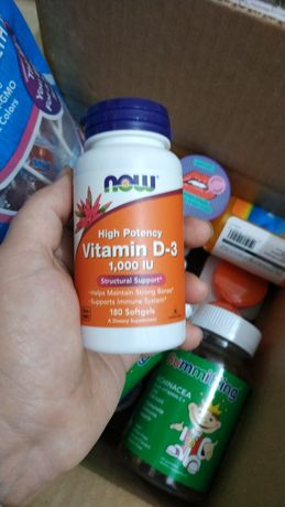 Витамин D3 1000ME - 180т. iherb В НАЛИЧИИ