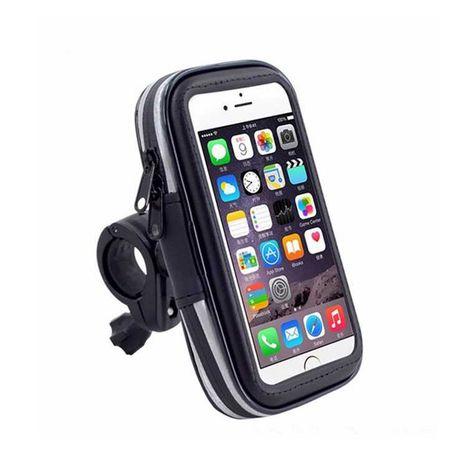 Защитный держатель для телефона на руль велосипеда Черный (bsdn-3)