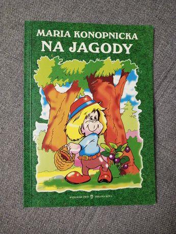 Książka lektura szkolna Zielona Sowa Na Jagody Maria Konopnicka