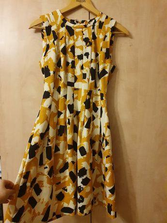 Женское платье в принт