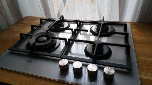 Płyta gazowa whirlpool szklana