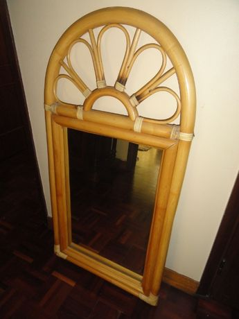 Espelho em Bambu