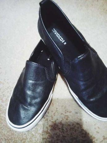 крутые H&M кеды мокасины кроссовки 39