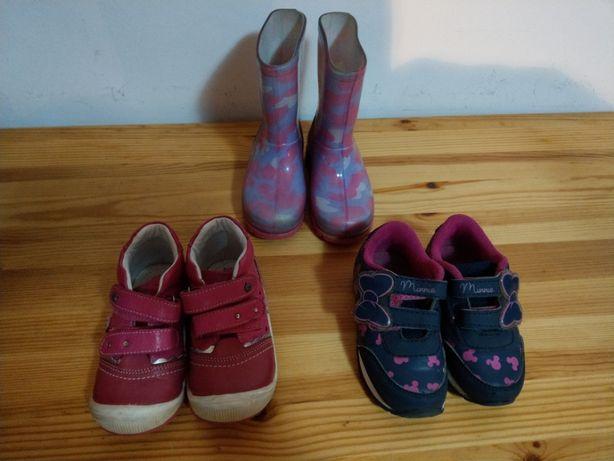 Buty, Buciki dla dziewczynki rozmiar 22-23
