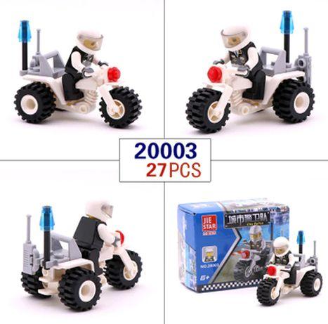 Lego City Police Полиция Полицейский мотоцикл конструктор Лего совмест