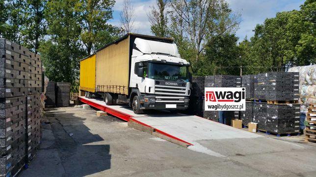 Waga samochodowa 50 - 60 ton - Budowa wagi u klienta