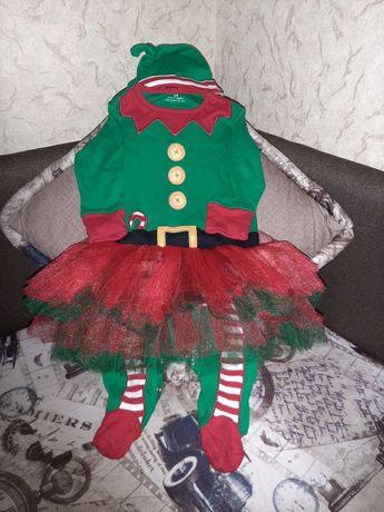 Новогодний костюм Эльфа