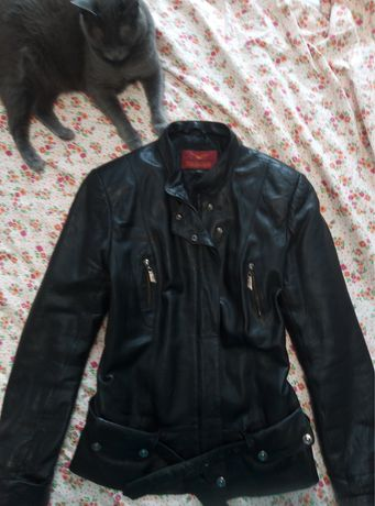 Куртка кожанная женская