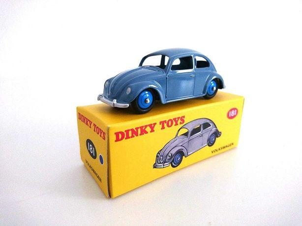 Dinky Toys Atlas VW Carocha Beetle Cocinelle NOVO