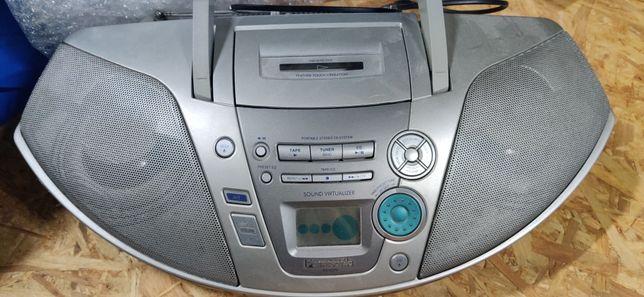 Boombox radioodtwarzacz magnetofon CD Panasonic RX-ES20