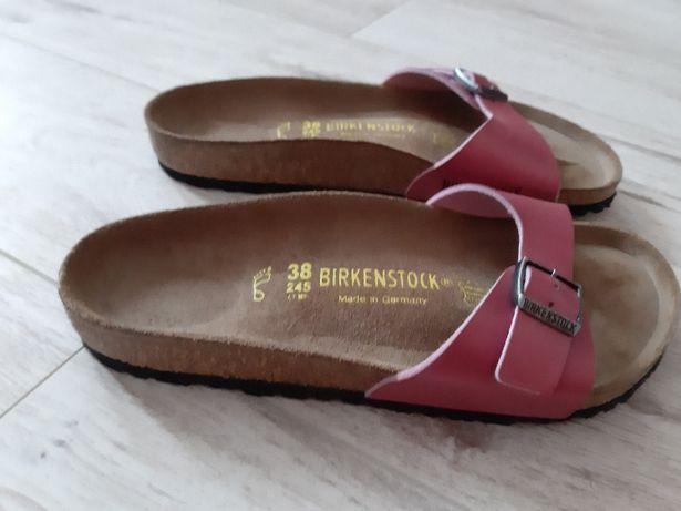 klapki Birkenstock roz. 38
