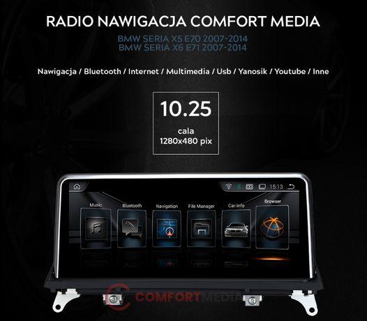 RADIO NAWIGACJA ANDROID BMW X5 E70 rok od 2007 do 2014 fv WWA