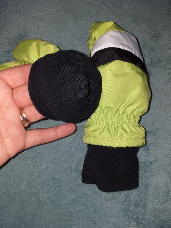 Рукавицы перчатки флис
