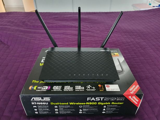 Router Asus RT-N66U Dark Knight