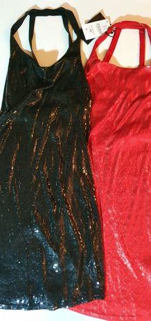 2 vestidos lantejoulas