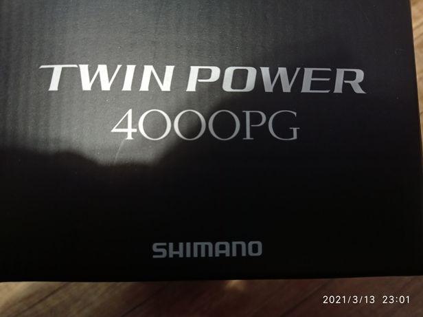 Катушка shimano twin power 4000PG