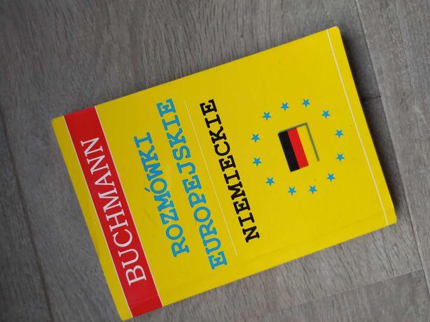 Rozmówki europejskie niemieckie + CD