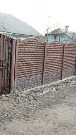 покраска   еврозабор. забор. ворота.
