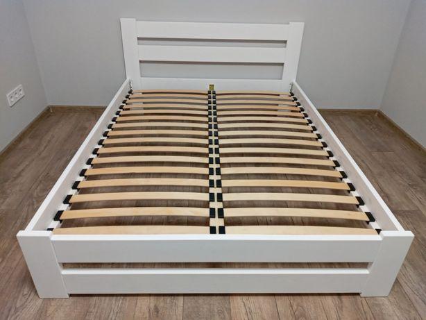 Чудове білосніжне ліжко розміром 160х200. Кровать Хіт Продаж