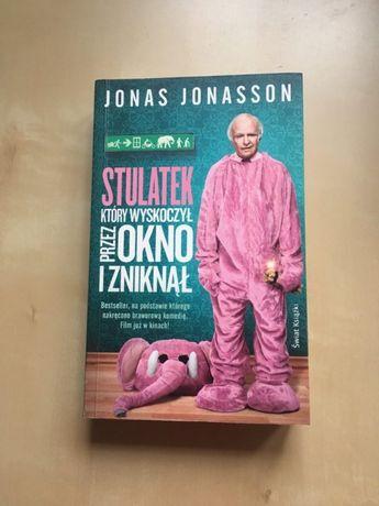 Jonas Jonasson- Stulatek który wyskoczył przez okno i zniknął