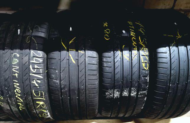 Continental 245/45R19 также Dunlop б/у из европы в отличном состоянии