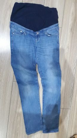 jeansy ciążowe 44 h&m