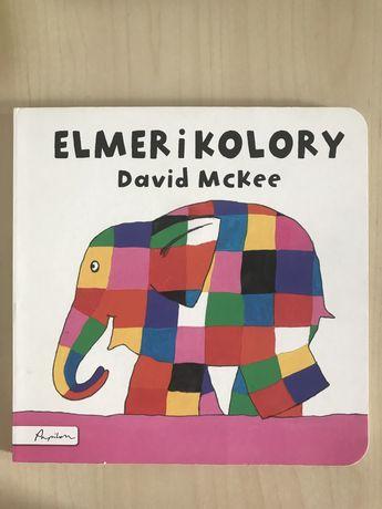 Elmer i kolory, książka dla dzieci