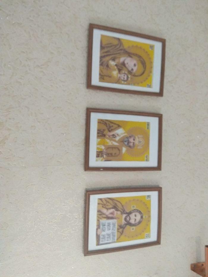 Продам 3 ікони вишиті бісером Балин - изображение 1