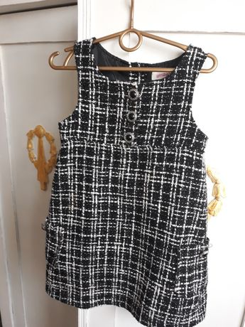 Sukienka  Święta  dla dziewczynki 5-6 lat 116cm