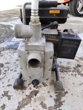 Bomba de rega a gasolina