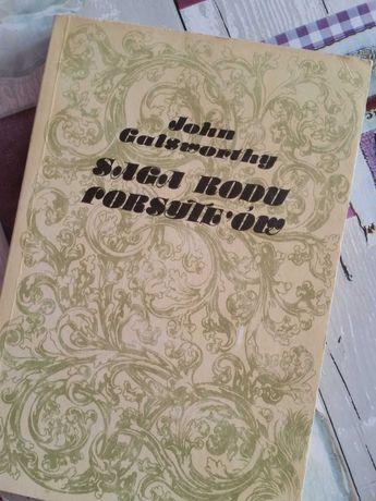 John Galsworthy Saga rodu Forsythów książka