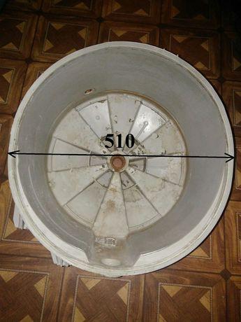 Продам полубак пральної машини беко wmn 6510n на 4.5 кг