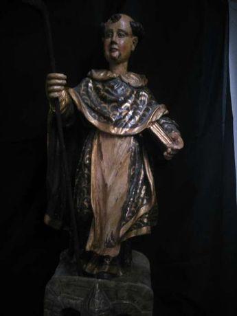 Sao Gonçalo de Amarante madeira arte sacra