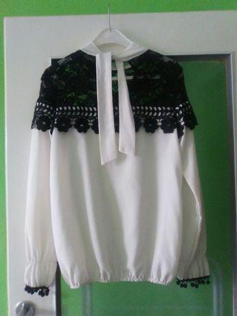 Koszula biała koronka