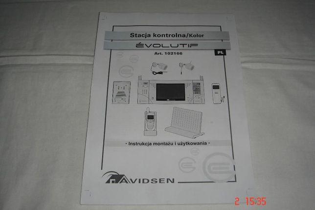 Sprzedam instrukcję instalacji i obsługi do Videofon AVIDSEN