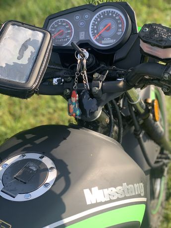 Продам мотоцикл Musstang 150,Стан нового 2020 рік!