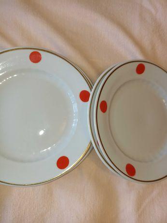 Тарелки времён ссср диаметр 17см, 6шт , отличное качество