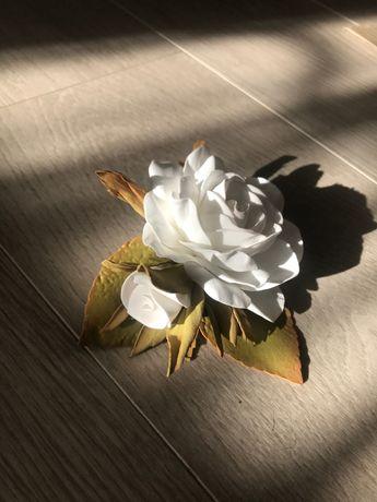 Заколочка с розами