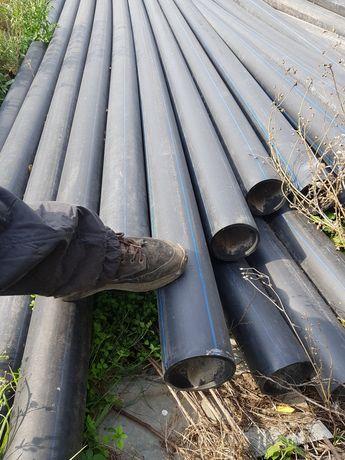 Трубы полиетилен 125 водопроводная пе 10 бар водопровідна труба трубы