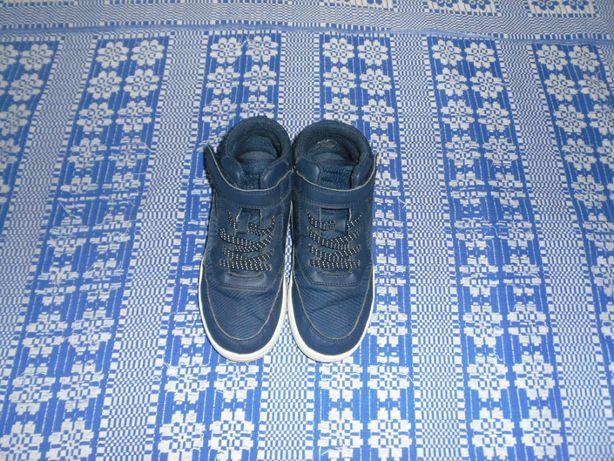 Ботинки хайтопы H&M р 33 для мальчика