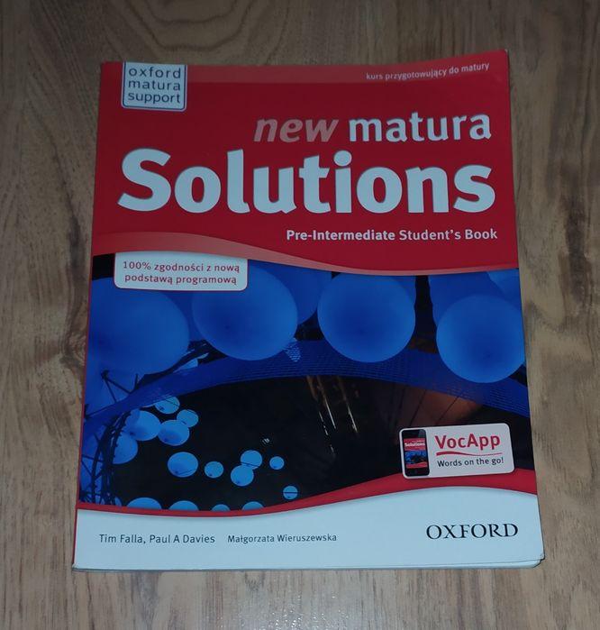 New Matura Solutions Pre-Intermediate Przystajń - image 1