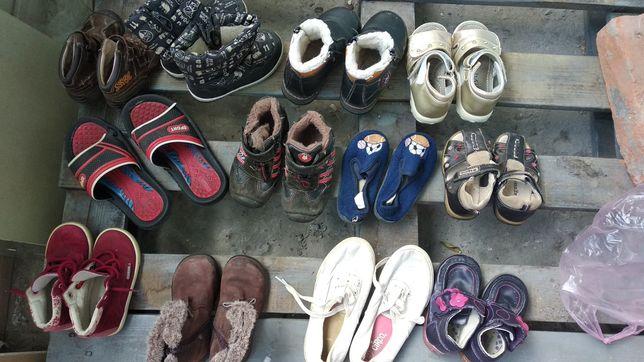 Детская разная обувь