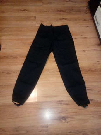 Spodnie czarne ochrona