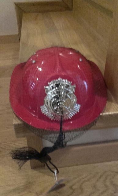 Kask strażaka bal