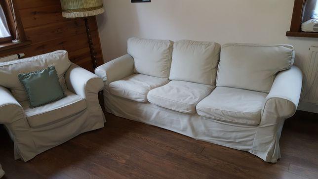 Ikea Ektorp kanapa 3-osobowa +fotel