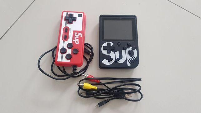 Konsola SUP RETRO 400w1 Pad TV AV Mario Contra KOLORY Gameboy pegasus
