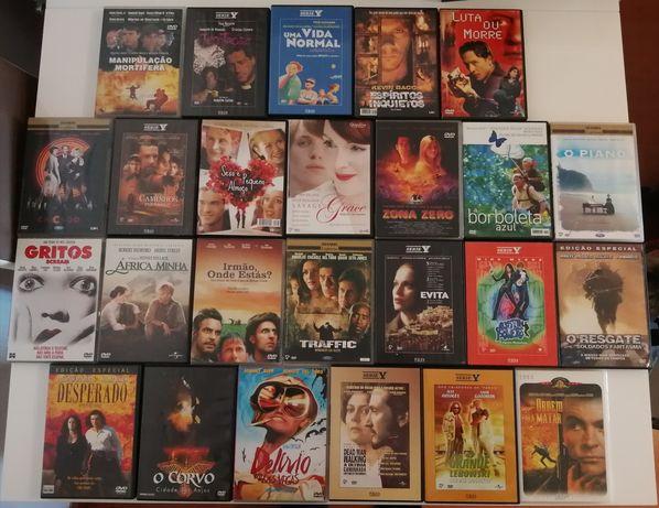 25 Dvds Originais com selo de Igac