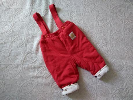 Штани, утеплені синтепоном на хлопчика чи дівчинку 6 міс