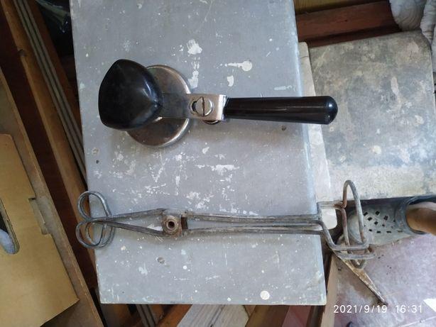 закаточный ключ + щипцы для банок